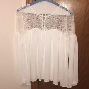 Tops - Crochet Long Sleeve